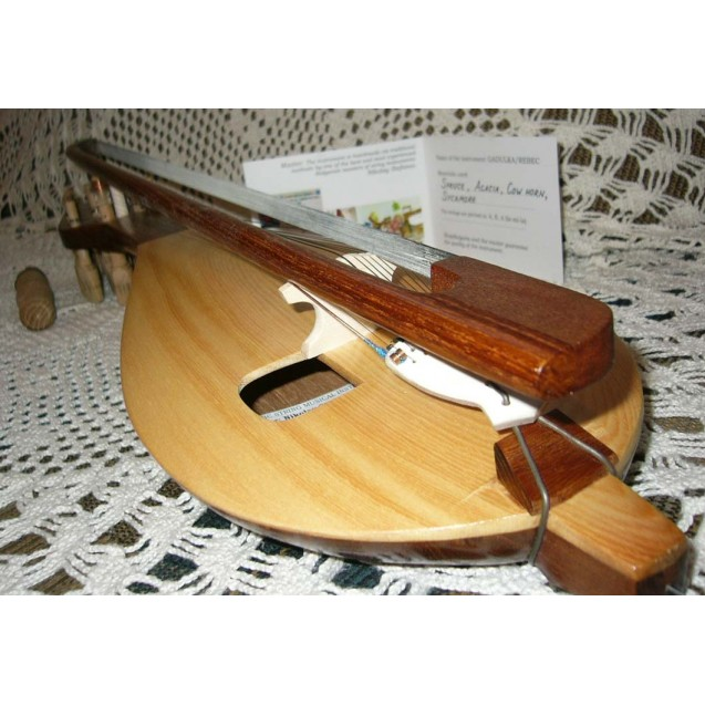 BULGARIAN GADULKA / Rebec Professional hand made instrument